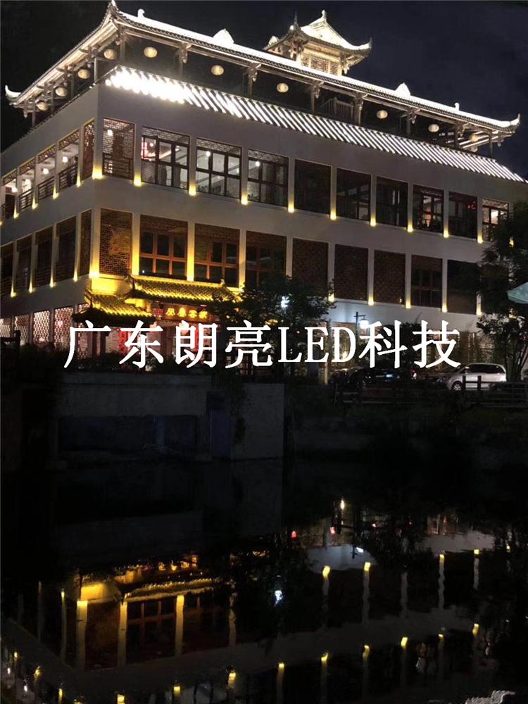 深圳甘坑客家小镇亮化项目