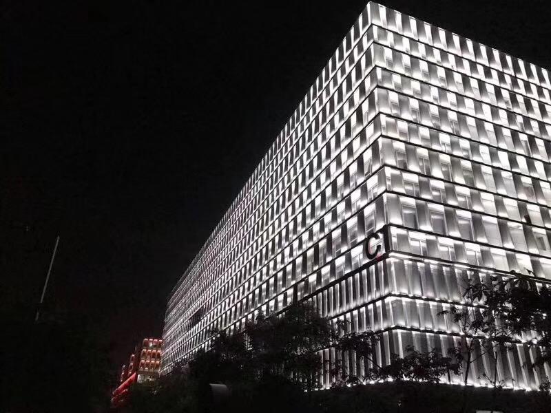 汇仁公司大厦亮化项目