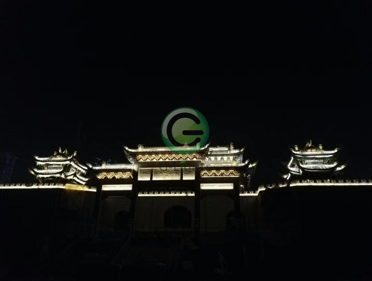 榕江大河口亮化