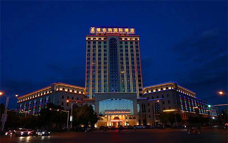 维也纳酒店大楼亮化项目