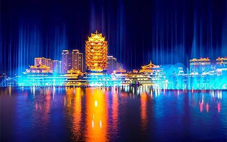 东坡城市湿地公园亮化项目