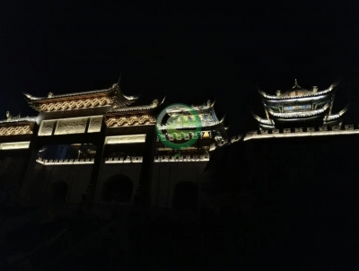 榕江大河口亮化项目