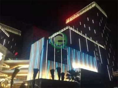 绿地中心夜景亮化项目