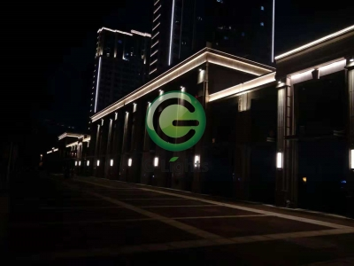 丹阳大亚第一城亮化