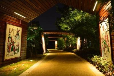 佛山滨河景观园林亮化项目