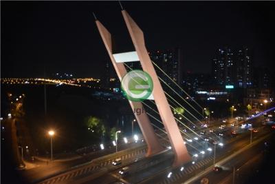 合肥市南淝河桥梁亮化项目