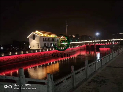 市政河畔亮化工程