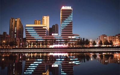 中信银行大楼亮化项目