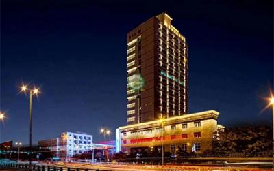平凉市区政务服务中心(鸿远大厦)楼体亮化项目