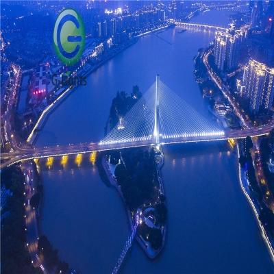 福州市淮安大桥景观照明工程详解