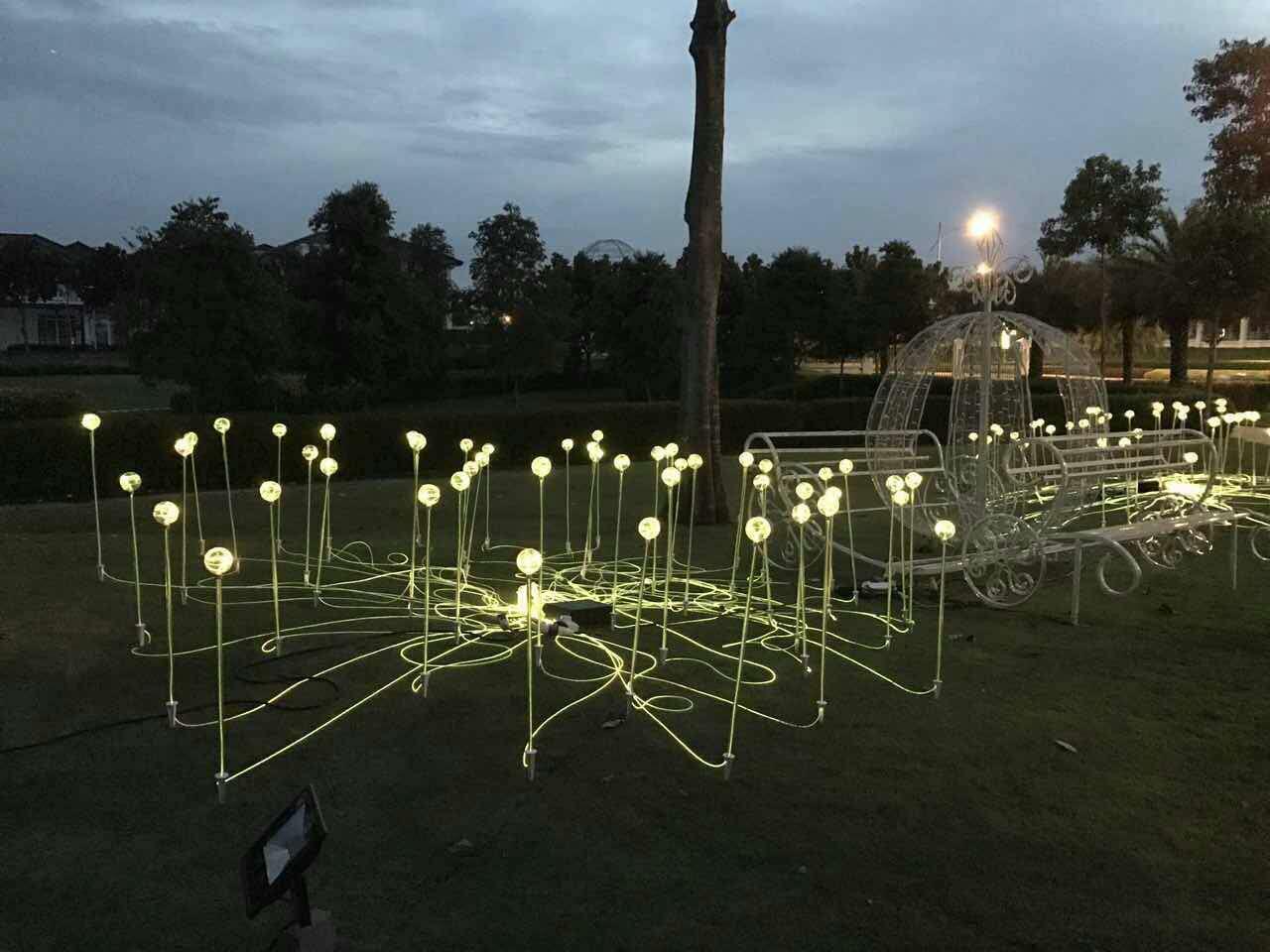 GLO-013 草坪芦苇光纤灯