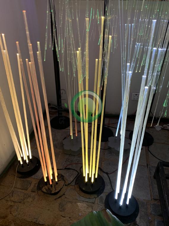 光纤芦苇灯