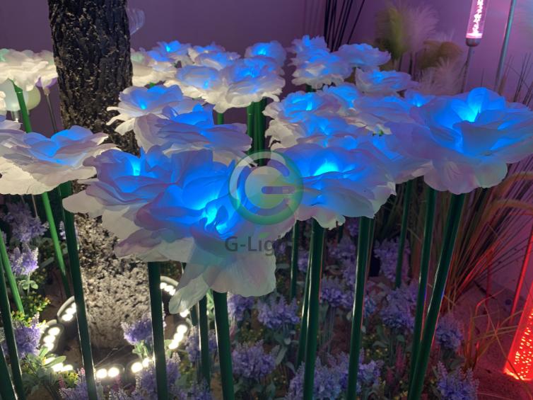 玫瑰花小品灯 FD-007