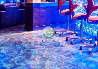 LED嵌入式水纹投影灯